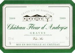 Etiquette du Château Fleur d'Andoyse